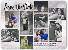 Save The Date Card: