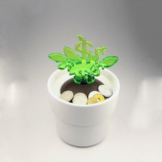 Money Tree Bank Green now featured on Fab.