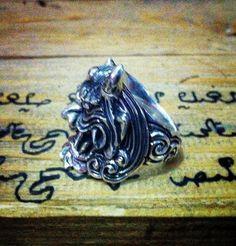 Kumo No Yokai Ring.  #masagi #silversmith #demon #ring