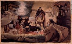 The fur Traders (coureur des bois) with Natives. A coureur des bois or coureur de bois (French pronunciation: ​[kuʁœʁ də bwa]), runners of the woods; plural: coureurs de bois) was an independent entrepreneurial French-Canadian woodsman who traveled in New France and interior of North America. They ventured into the woods usually to trade various European items for furs, especially beaver pelts, and along the way, learned the trades and practices of the Native people who inhabited there.