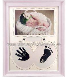 Rama foto si amprenta bebelus Frame, Home Decor, Picture Frame, Decoration Home, Room Decor, Frames, Hoop, Interior Decorating, Picture Frames