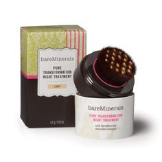 bareMinerals Pure Transformation Night Treatment | #beautybaywishlist - Bare minerals is a great product - would love to try this product....