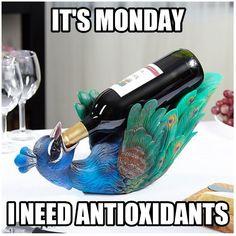 It's Monday.
