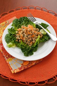 Chickpea Salad with Tahini Mint Dressing (2 of 2)