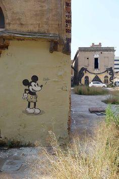 """Tengo Hambre"", Barcelona, Spain, by the artist Escif"