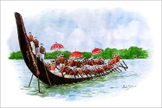 Boat race by Abdul salim - Artist / Illustrator