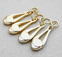 Gold Zipper Slider (Zipper Pull) Zipper Slider Charm 10pcs 200-703  Color:Light Gold,gold,Nickle,Gunmetal Size:45x13mm Quantity:10pc  Color may Vary on your monitor b534  DIY Supplies! Best Choice of you