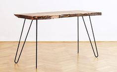 Driftwood Table Rustic Wood Table Walnut Table Live by OurHood