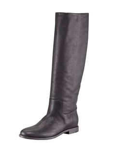 Maison Martin Margiela - Distressed Leather Tall Boot