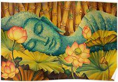 Reclining Buddha Posters