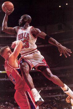 "Michael Jordan in Air Jordan ""Taxi"" XII"