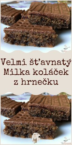 Velmi šťavnatý Milka koláček z hrnečku Tiramisu, Ham, Cheesecake, Food And Drink, Sweets, Baking, Drinks, Desserts, Recipes