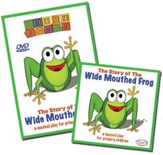 wide mouth frog story