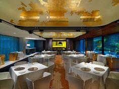 【设计风尚】巴塞罗那文华东方酒店. Restaurant Blanc at Mandarin Oriental Hôtel, Barcelona