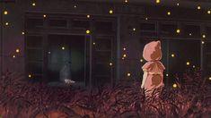 la tumba de las luciernagas color