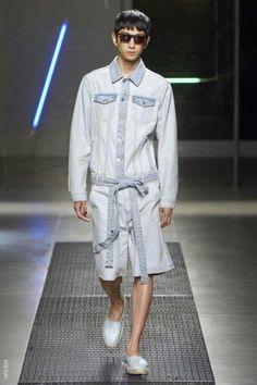 Denim Milan catwalk
