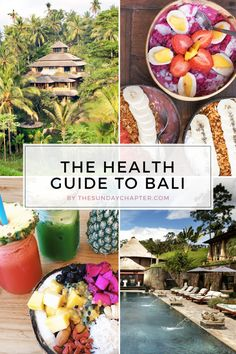 the health guide to bali