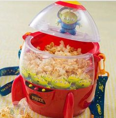 Tokyo Disney Resort Stitch Space Ship Popcorn Bucket Case Japan Limited TDL TDR