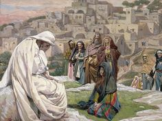 James Tissot - Jesus Wept