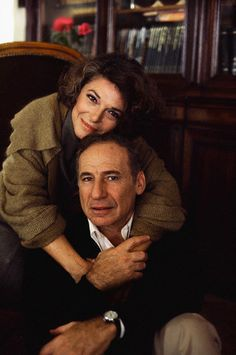 Mel Brooks and wife Anne Bancroft