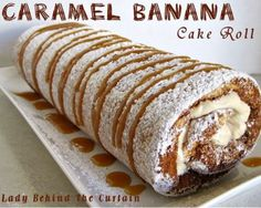 caramel-banana-roll ...when you need something fancy but are on a strict budget. I could see taking this to a baby shower etc as a food contribution. Would make a nice Easter dessert too if you were in a financial pinch.