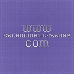 www.eslholidaylessons.com