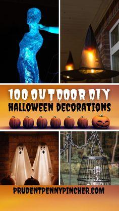 Diy Halloween Decorations, Halloween Diy, Halloween Tricks, Halloween Wreaths, Spooky Decor, Halloween Pumpkins, Fall Home Decor, Outdoor Projects, Easy Diy