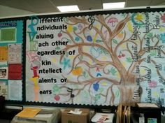 Gorgeous Diversity Bulletin Board for Back-To-School! - Bulletin Board Ideas