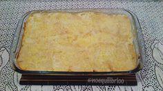 Torta de pão de forma. Fácil e gostosa! Uma ótima dica para o lanche da tarde. :)