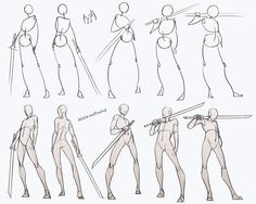 comic art Swordsman Poses Pack - my Patreon for ALL sketches and resources! Drawing reference resource practice human body anatomy tutorial male androgyne sword swordsman poses standing how to draw Drawing Body Poses, Body Reference Drawing, Drawing Reference Poses, Guy Drawing, Drawing Base, Drawing People, Drawing Tips, Drawing Ideas, Drawing Techniques
