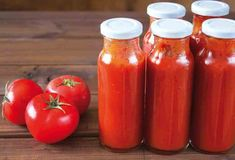 Food trends 2017 - homemade condiments and unusual sauces such as black garlic puree! Interesting read overall Homemade Ketchup, Homemade Tomato Sauce, Homemade Salsa, Chutneys, Catsup, Purple Food, Egg Recipes For Breakfast, Food Trends, Mayonnaise