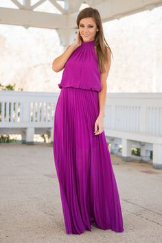 Passion For Greatness Maxi Dress, Orchid