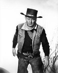 John Wayne - Une scène de La Rivière rouge - 1948