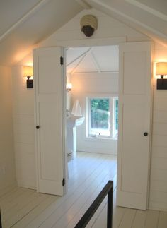 7 Cheap And Easy Unique Ideas: Attic Renovation Kitchen Cabinets attic lighting bedroom.Attic Closet Built In. Attic Master Bedroom, Attic Bedroom Designs, Attic Design, Bedroom Loft, Home Design, Modern Bedroom, Attic Bedroom Closets, Upstairs Bedroom, Upstairs Bathrooms