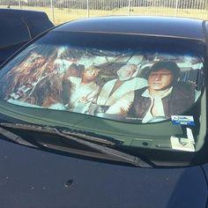 car sun screen- I want!