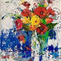 Buy 'Meadow Flowers', Oil painting by Ewa Czarniecka on Artfinder. Discover thousands of other original paintings, prints, sculptures and photography from independent artists. Oil Painting Flowers, Oil Painting On Canvas, Canvas Art, Abstract Flowers, Acrylic Paintings, Paintings For Sale, Original Paintings, Meadow Flowers, Special Flowers