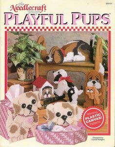PLAYFUL PUPS 1**** ((PATTERN BOOK LOCATED UNDER CHILDREN'S  CORNER BOARD)))****