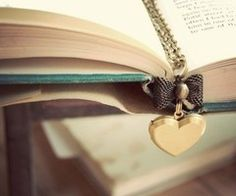 I just love the colors gold & aqua/turquoise blue. I Love Reading, Love Book, Arrow Necklace, Gold Necklace, Pendant Necklace, Heart Bookmark, Book Markers, Book Making, My Favorite Color