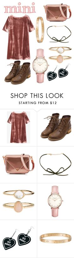 """👛💖"" by alexiazarate03 ❤ liked on Polyvore featuring Toast, Alexander Wang, Accessorize, Topshop, Witch Worldwide and Cartier"