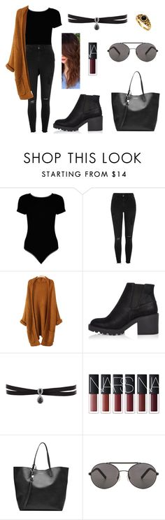 """Untitled #319"" by fashion-with-dudette on Polyvore featuring Boohoo, River Island, Fallon, Alexander McQueen and Seafolly"