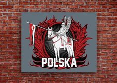 """Premium hand stretched canvas Hussar print. Available in 16"""" x 12"""" and 20"""" x 16"""" sizes"""