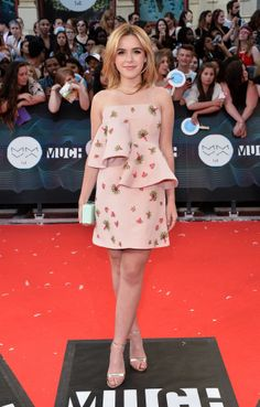 Kiernan Shipka in Marni at the MuchMusic Video Awards.