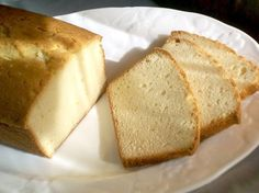 A moist, buttery cake with a delicate lemon scent  I recently read a very interesting post about a luncheon menu for Presidents' Day written by T.W. from Culinary Types. Every dish feat…