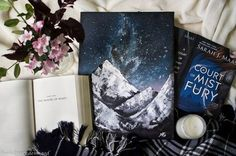 "bookdrunkdemigod: "" ""To the people who look at the stars and wish, Rhys."" Rhys clinked his glass against mine. ""To the stars who listen— and the dreams that are answered."" ― Sarah J. Maas, A Court of. A Court Of Wings And Ruin, A Court Of Mist And Fury, Good Books, My Books, Roses Book, Feyre And Rhysand, Sarah J Maas Books, Throne Of Glass Series, Book Fandoms"