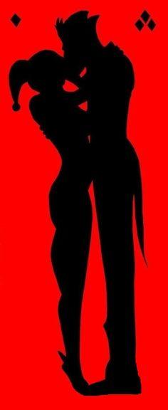 Joker and Harley Quinn Vinyl Decal FREE by KaylasKraftyShop