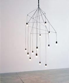 minimal chandelier by arik levy, design squish blog