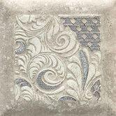 """Found it at Wayfair - Del Monoco 6-1/2"""" x 6-1/2"""" Glazed Decorative Tile in Leona Grigio"""