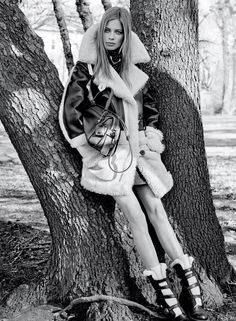 Lexi Boling by Steven Meisel for Coach Fall/Winter 2015/2016 Campaign.