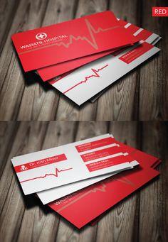 Doctor Business Card #businesscards #businesscardtemplates #custombusinesscards