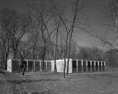 McCormick House, Elmhurst IL (1952, relocated in 1994) | Ludwig Mies van der Rohe